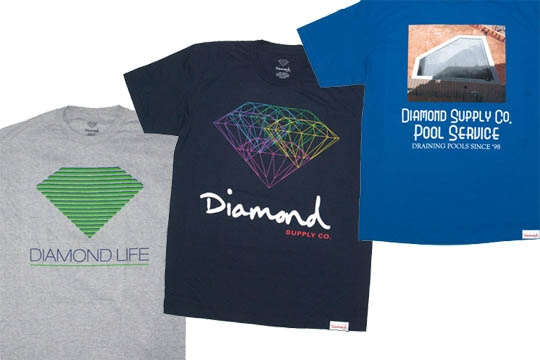 Diamond Supply Co. 2012 Summer T-Shirts