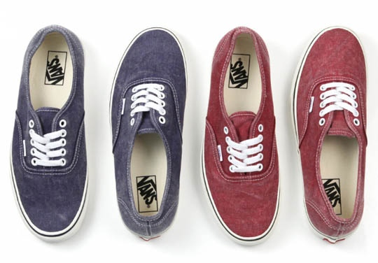 "Vans Authentic ""Washed"""