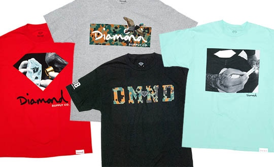 Diamond Supply Co. 2012 Fall Shirts