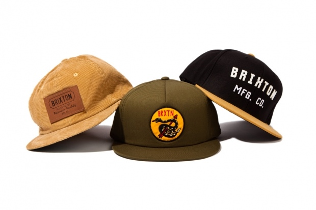 Brixton 2012 Fall/Winter Caps